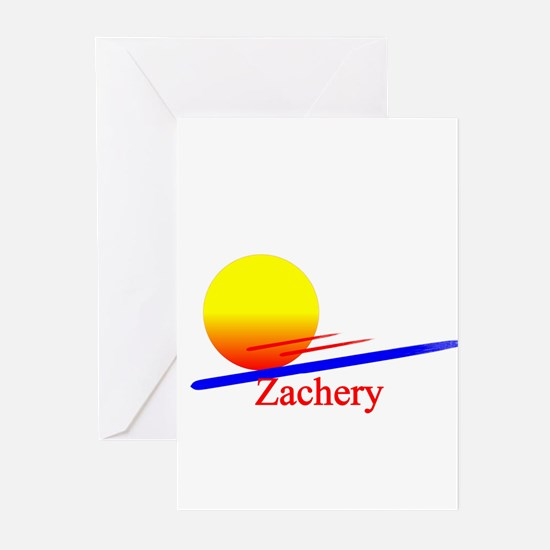 Zachery Greeting Cards (Pk of 10)