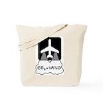 CO2 = WMD Aeroplane Tote Bag
