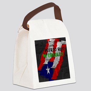 Puerto Rico, My Pride Canvas Lunch Bag
