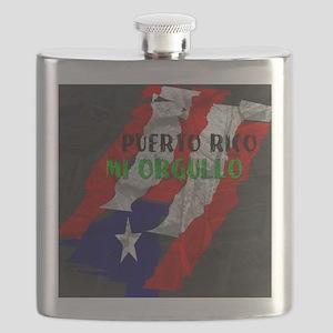 Puerto Rico, My Pride Flask