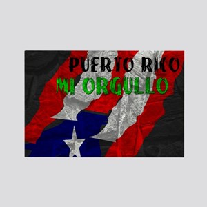 Puerto Rico, My Pride Rectangle Magnet