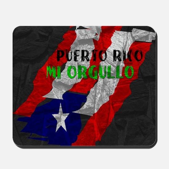 Puerto Rico, My Pride Mousepad
