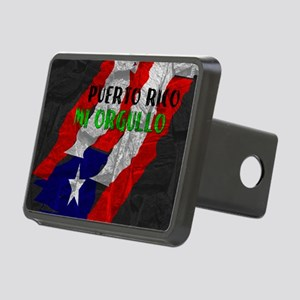 Puerto Rico, My Pride Rectangular Hitch Cover