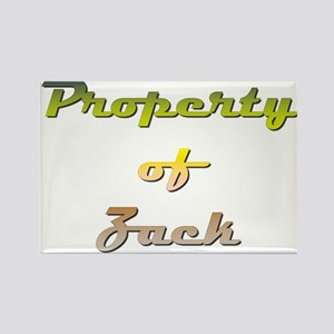 Property Of Zack Male Magnets