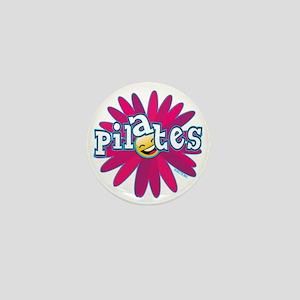 PILATES SMILEY FLOWER copy Mini Button