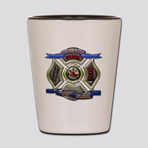 Fire Department Chrest copy Shot Glass