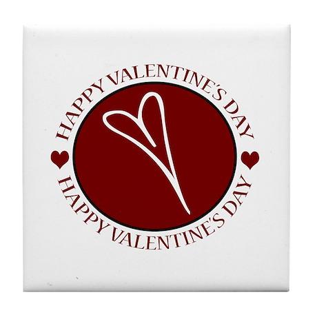 Valentine's Day No. 12 Tile Coaster