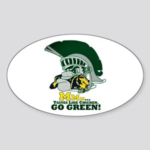 sparty is hungry Sticker