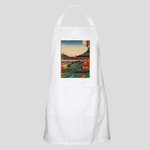 One-Hundred-Famous-Views-of-Edo-Art-Print-48 Apron