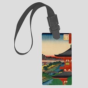 One-Hundred-Famous-Views-of-Edo- Large Luggage Tag