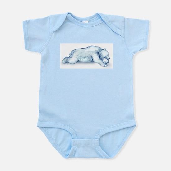 polar bear napping Body Suit