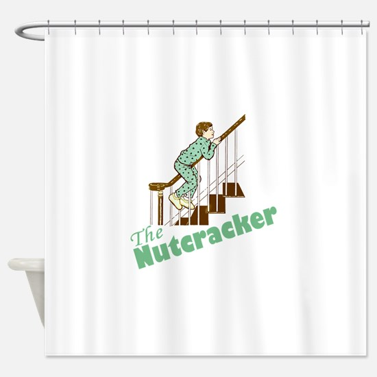 NUTCRACKER3 Shower Curtain