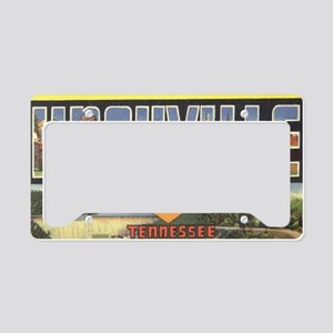 Vintage Knoxville Design License Plate Holder