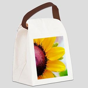 calendar black eyed susan Canvas Lunch Bag