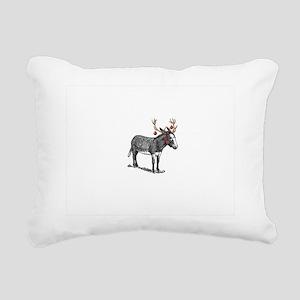 rucio christmas card Rectangular Canvas Pillow