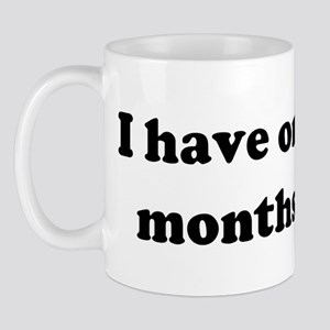 I have only three months to l Mug