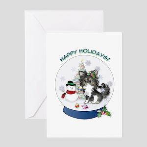 Christmas Chi #2 Greeting Card