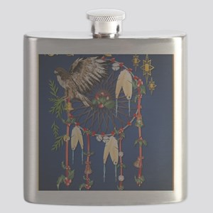 Magical Christmas Dreams PosterP Flask