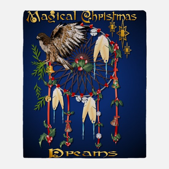 Magical Christmas Dreams PosterP Throw Blanket