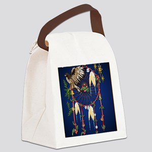 Magical Christmas Dreams PosterP Canvas Lunch Bag