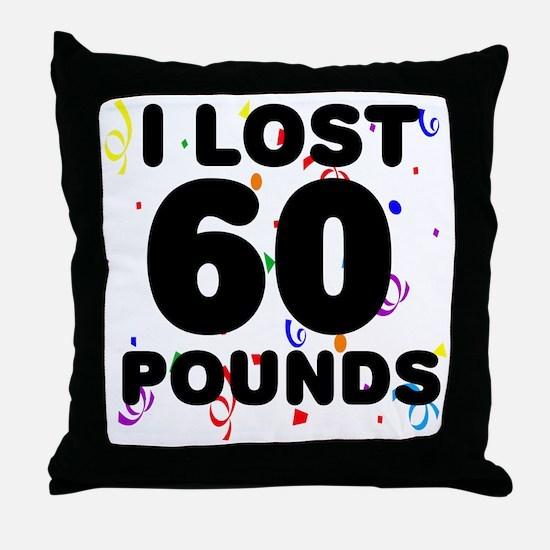 60Party Throw Pillow