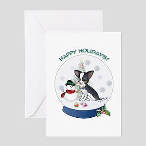Christmas Chi #3 Greeting Card