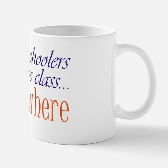 have class 2 blue and orange Mug