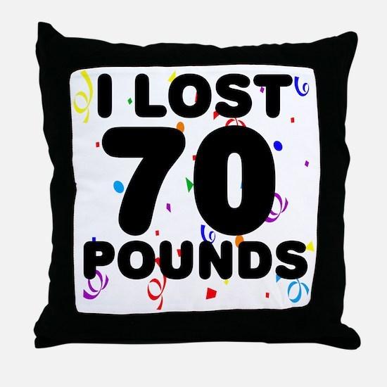 70Party Throw Pillow