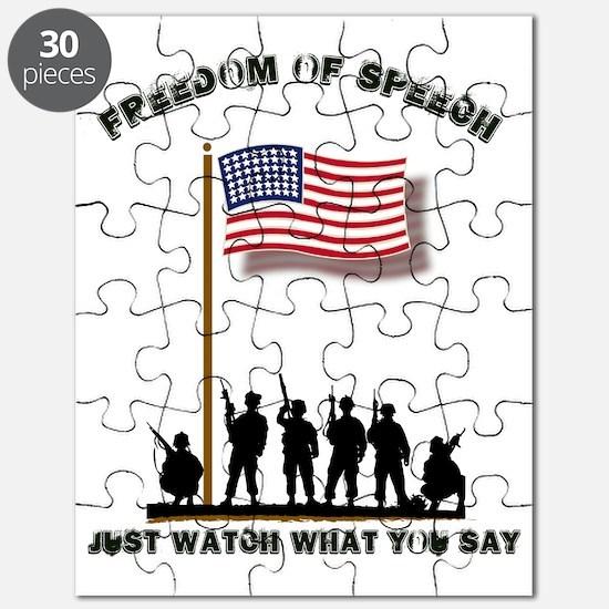 Freedom of Speech Puzzle