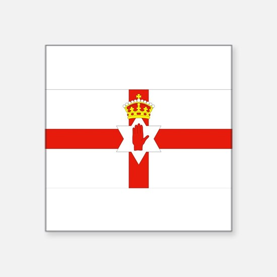 Northern Ireland Flag Rectangle Sticker
