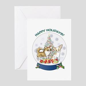 Christmas Chi #7 Greeting Card