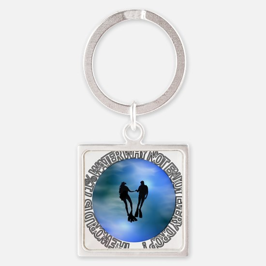 DIVER SP #16 Square Keychain