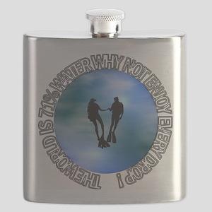 DIVER SP #16 Flask