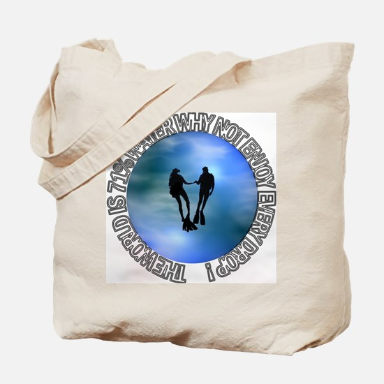 DIVER SP #16 Tote Bag