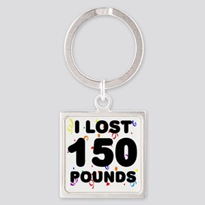 150Party Square Keychain