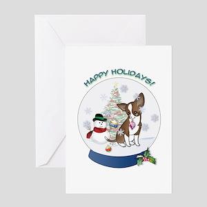 Christmas Chi #9 Greeting Card