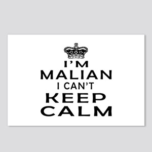 I Am Malian I Can Not Keep Calm Postcards (Package