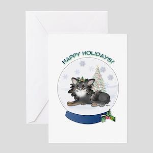 Christmas Chi #10 Greeting Card