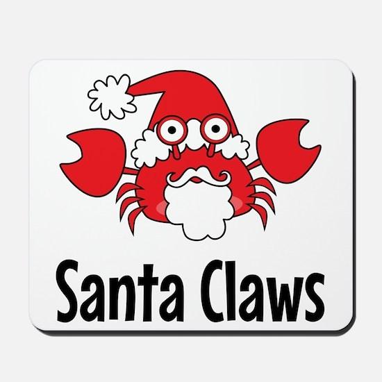 Santa Claws Mousepad