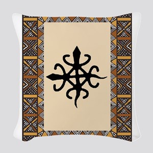 untity-in-diversity Woven Throw Pillow