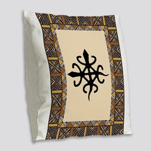 untity-in-diversity Burlap Throw Pillow