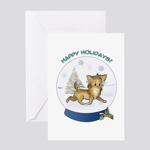 Christmas Chi #12 Greeting Card