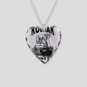 kodiak_bering_bw Necklace Heart Charm