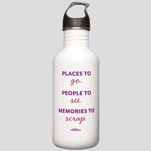 PlacesPeople_ck_shirtb Stainless Water Bottle 1.0L