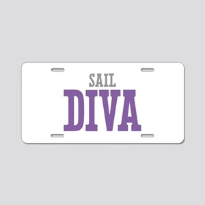 Sail DIVA Aluminum License Plate
