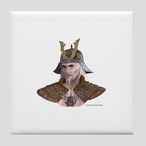 Genghis Khaaaan Busted! Tile Coaster