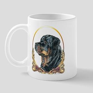Rottweiler Christmas/Holiday Mug