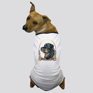 Rottweiler Christmas/Holiday Dog T-Shirt