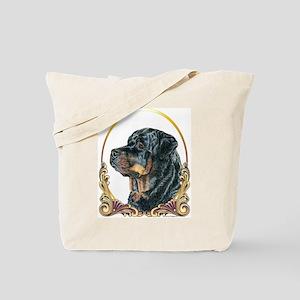 Rottweiler Christmas/Holiday Tote Bag