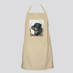 Rottweiler Christmas/Holiday BBQ Apron